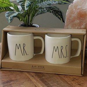 Rae Dunn Mr. Mrs. Box Set